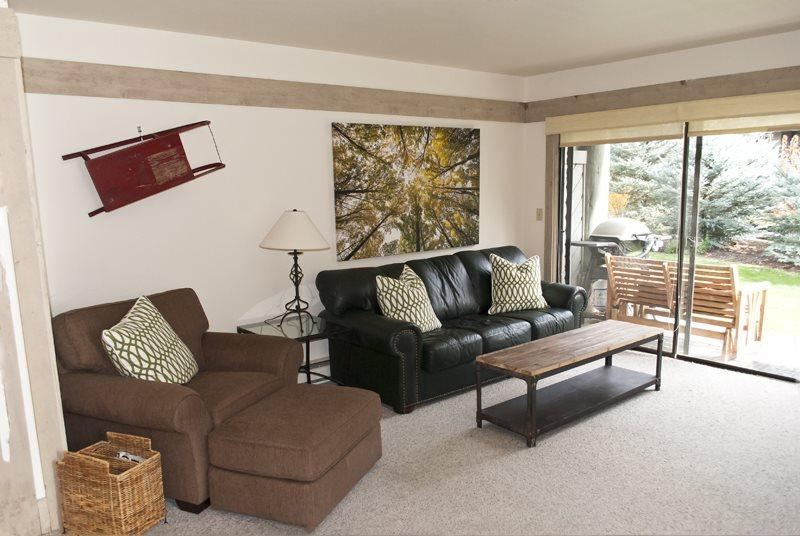 Living room  - Greyhawk #24 - Warm Springs Newly decorated condo, Walk to the lifts; - Sun Valley / Ketchum - rentals