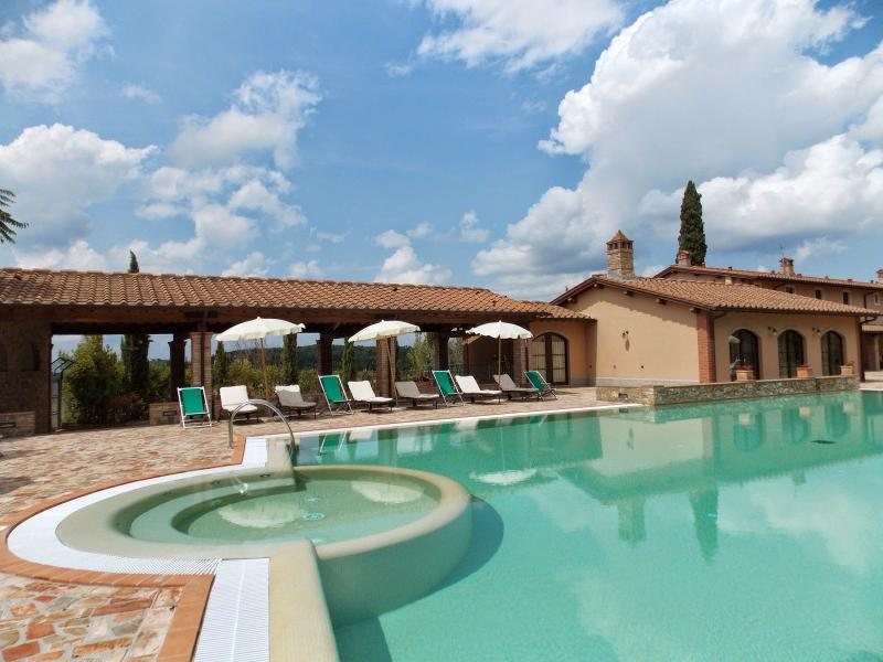 11 bedroom Villa in Montaione, San Gimignano, Volterra And Surroundings - Image 1 - Corazzano - rentals