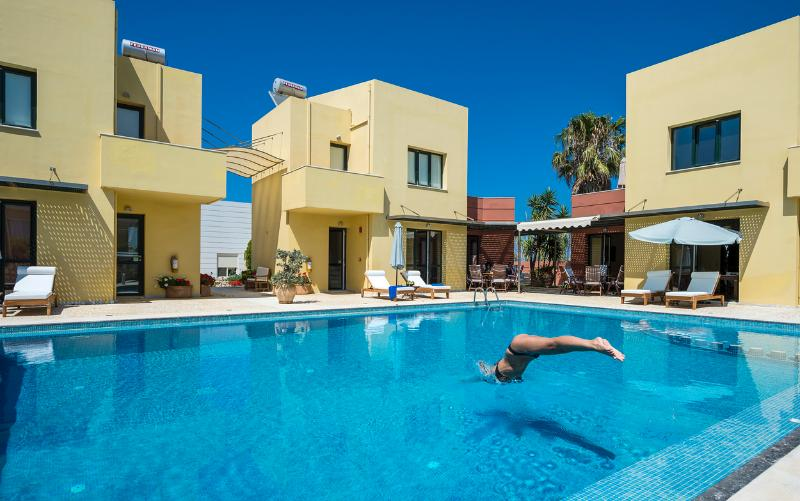 Beach,Pool,Seaview,Daphnis-Villa 1 - Image 1 - Chania - rentals