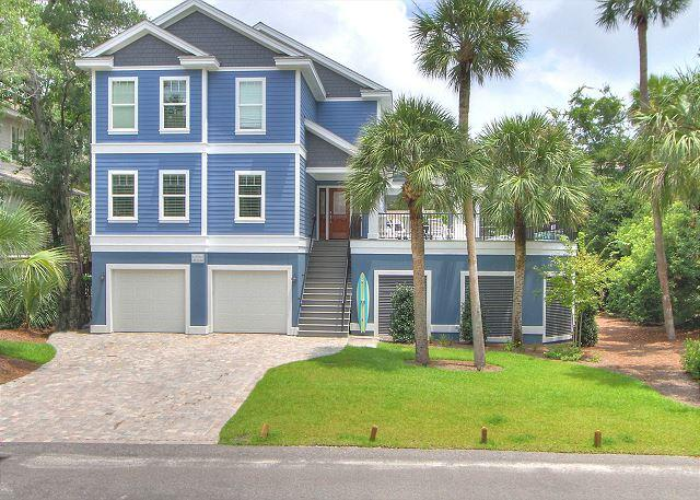 Exterior - 27 Pelican- Need 4, 5 or 6 bedroom home?  Available weeks  4/11 - 5/16 - Hilton Head - rentals
