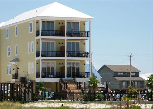 Back View of Dream Big - 'Dream Big' Private Pool, ELEVATOR, 12 Bd/10 Ba - Gulf Shores - rentals