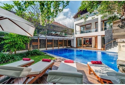 4 Bedroom Villa -  5 Minutes to Seminyak Beach - Image 1 - Seminyak - rentals