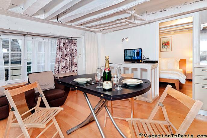 Cobblestone Delight St. Germain One Bedroom - ID# 254 - Image 1 - Paris - rentals