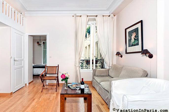 1 Bedroom in St. Germain at d'Orsay - Image 1 - Paris - rentals