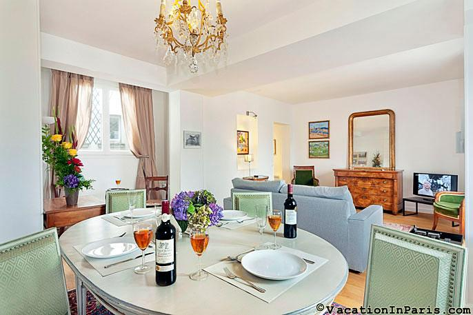 Beautiful Luxury Two Bedroom Pont Neuf - ID# 276 - Image 1 - Paris - rentals