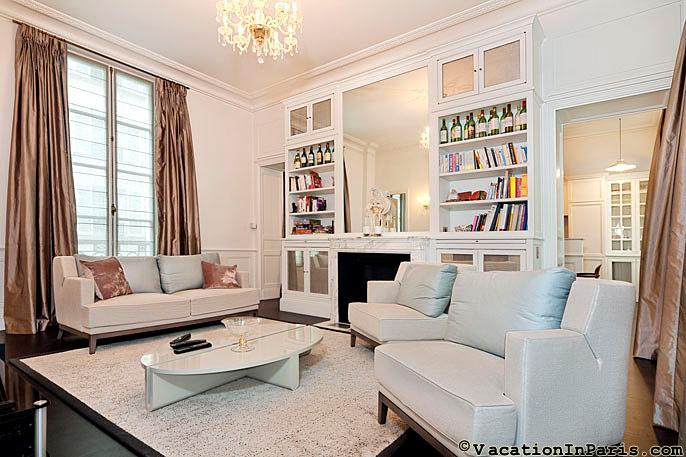 Wonderful Louvre Area Luxury Two Bedroom - ID# 282 - Image 1 - Paris - rentals