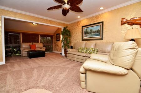 Living room - Gulfside Small Garden  V - Siesta Key - rentals