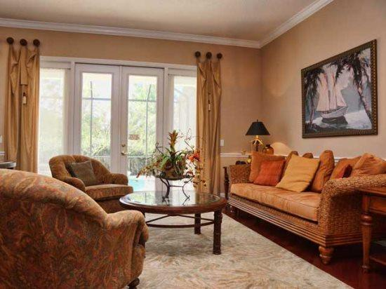 Living Area - RE5P7704LL Stunning Family Vacation Home in Kissimmee - Orlando - rentals