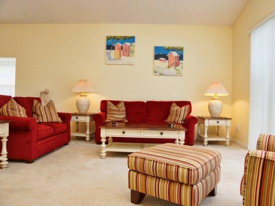 Living Area - GB4P16813GB Orlando 4 BR pool home GB4P16813GB - Orlando - rentals