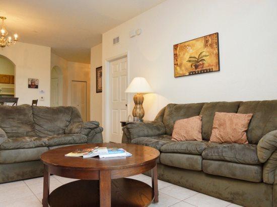 Living Area - WH3C7664CS-203 Orlando 3 BR Condo WH3C7664CS-203 - Orlando - rentals