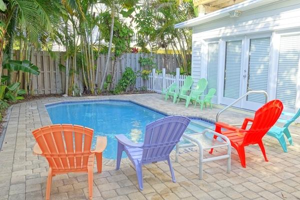 Pool 1 - SUZS SEABREEZE - Holmes Beach - rentals