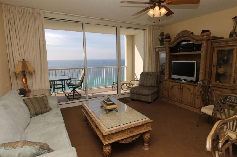 Beautifully Decorated with Indescribable Gulf Views - Wonderful Views and a Pool at Majestic Beach Resort - Panama City Beach - rentals
