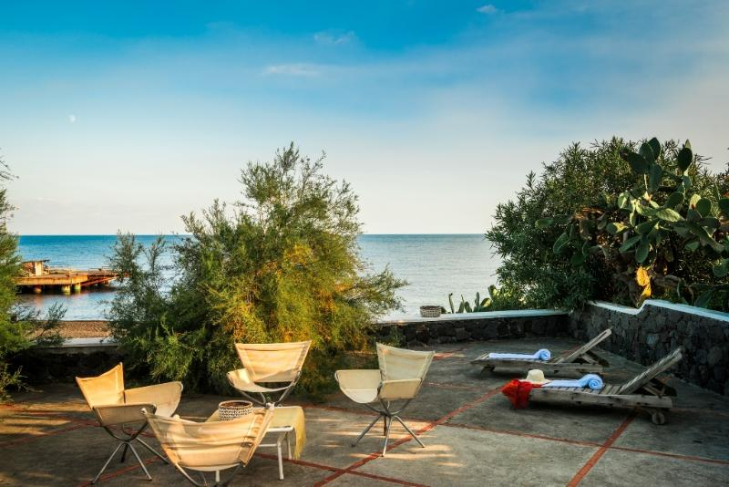 BEAUTIFAUL HOUSE ON THE BLACK BEACH OF STROMBOLI - Image 1 - Stromboli - rentals