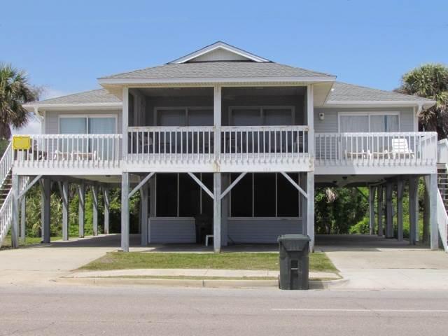 "121 Palmetto Blvd - ""Grimes House"" - Image 1 - Edisto Beach - rentals"