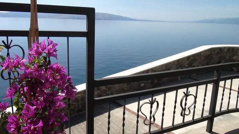 Villa Arca Adriatica, relaxing view from terrace - Sea View Apartment****(4+2)  Villa Arca Adriatica - Senj - rentals