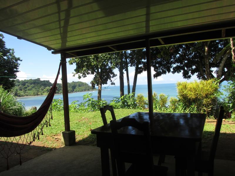 View from your back door. - Ocean View 2 Bedroom Bungalow. - Drake Bay - rentals