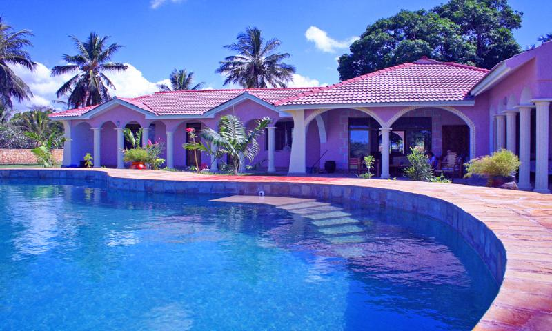 Waterfront Villa-Mombasa North Coast-pool/staff - Image 1 - Mombasa - rentals