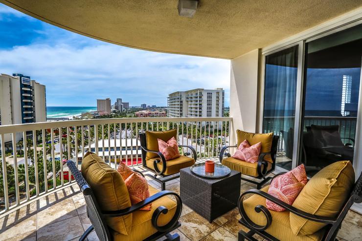 Balcony - ST MAARTEN 808 - Destin - rentals