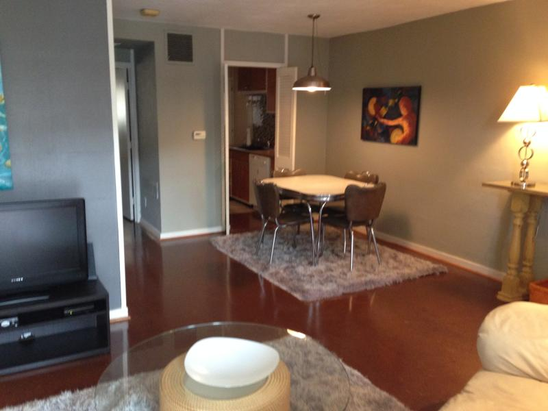 Living and Dining Area - Cherokee Rd Condo #1 - Louisville - rentals