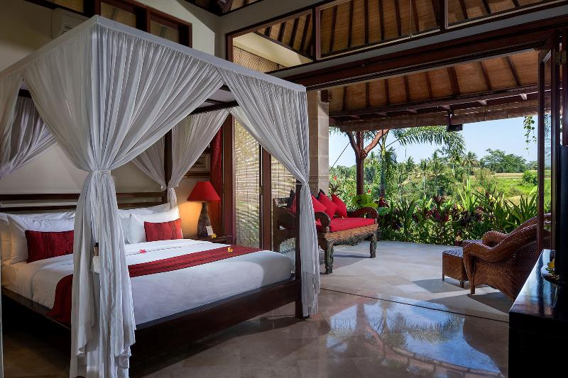 Master  Bedroom Pool  Residence  Villa - Bidadari Private Villas & Retreat- Ubud - Ubud - rentals