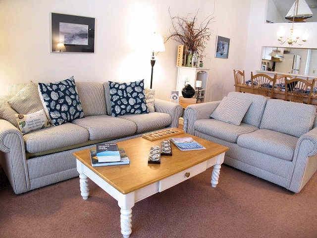 Living Room - Ocean Edge upper Level with King Bed - EA0318 - Brewster - rentals