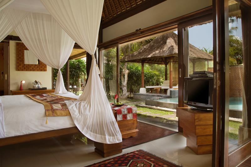 Interior of Villa Shanti Om - Rustic Luxury: Villa Shanti Om - Ubud - rentals
