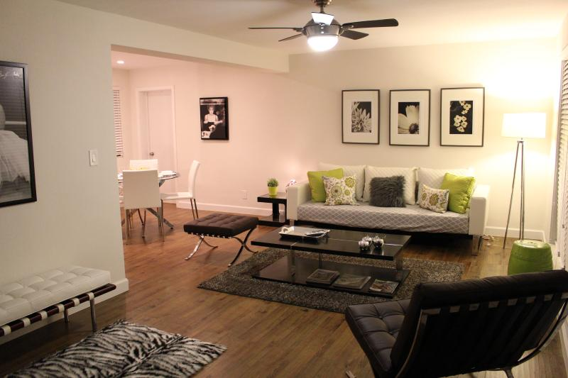 Living Area - Top Vacation Rental Awarded!  Boutique Style 1/1 w - Lauderdale by the Sea - rentals