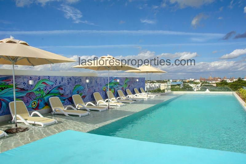Rooftop Pool - ANAH 2 BEDROOMS - Great location!  Great Amenities!! - Playa del Carmen - rentals