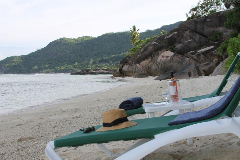 Our Beach is 1 of the best in the Seychelles! Enjoy it on one of our 12 sun loungers... - Beachfront Villa on 1 of Seychelles' best beaches - Mahe Island - rentals