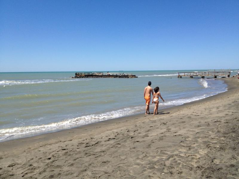 Beach is a block and a half away from apartment - Rome Ostia Beach Apartment (persons 4) - Lido di Ostia - rentals
