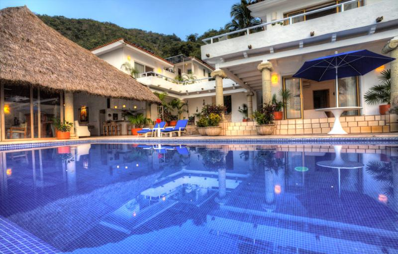 The Lovely Casa Salinas 1 - Mexico Luxury Family Villa on Los Gatos Beach Cook - Puerto Vallarta - rentals