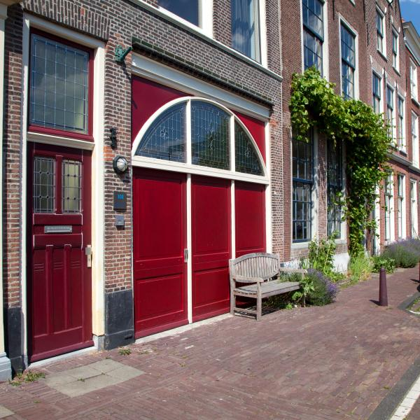 Front door of Splendid  Locations - Rembrandt apartment city center Leiden - Leiden - rentals