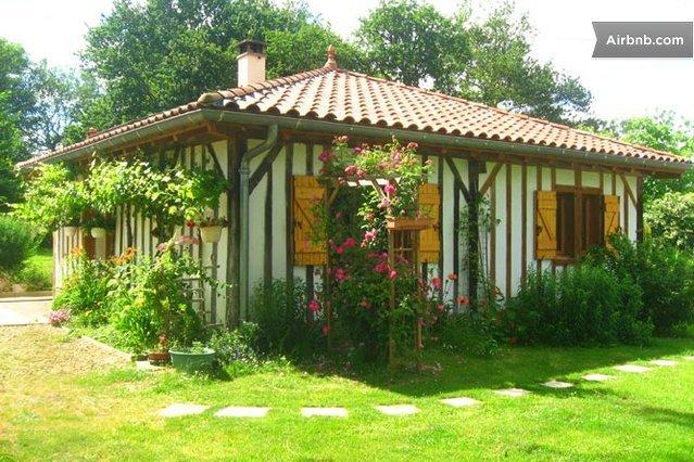 la vigne sur l'entrée et côté chambres - Gîte rural du Petit Coucut - Villenave-de-Rions - rentals