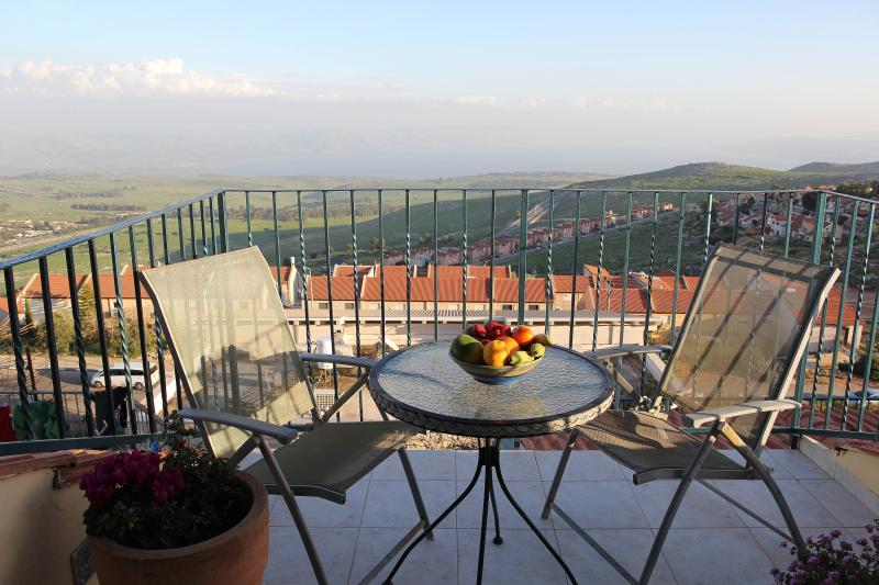 Galilee - Romantic for Couple - Panorama Lake View - Image 1 - Safed - rentals