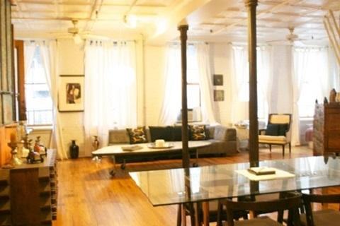 2 BR 1 Bath SoHo Mercer/Prince Street Artist Loft! - Image 1 - New York City - rentals