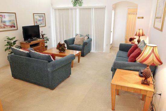 Nice 3 Bedroom 2 Bathroom Pool Home in Hampton Lakes. HL8040 - Image 1 - Four Corners - rentals