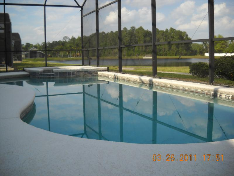 Privated pool with amazing lake view - Lake view 7 Bed 5 Bath rooms /4 KingSize suites - Kissimmee - rentals