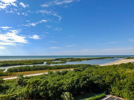 View from Balcony - SST4-701 - South Seas Tower - Marco Island - rentals