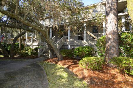 Front of Home - 2nd Row Ocean Home, 2 Minute Walk to Beach, Private Pool/Hot Tub - Hilton Head - rentals
