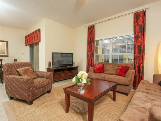 4 Bedroom 3 Bath Town house in Paradise Palms Resort. 8953COCO - Image 1 - Orlando - rentals