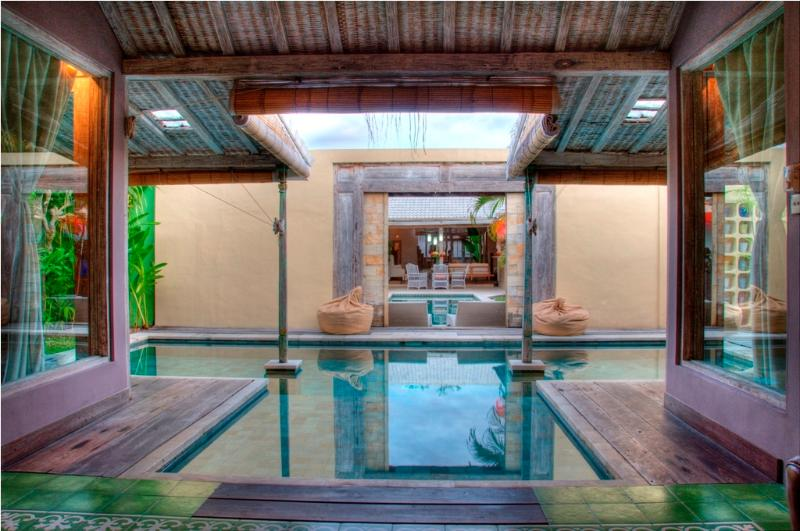Pool view - Cosy 2BR Villa, Eat.Str., Seminyak - Seminyak - rentals