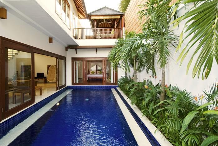 Villa and Pool view - 2BR Private Pool Villa, Best Central location, Se - Seminyak - rentals