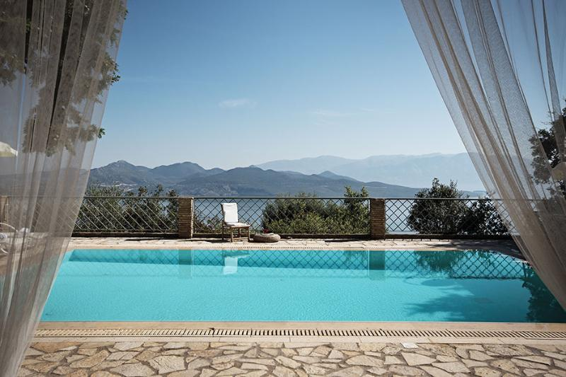 Views from the apartment - Luxurius, amazing seaviews/pool, WiFi-Villa Aethra - Nikiana - rentals