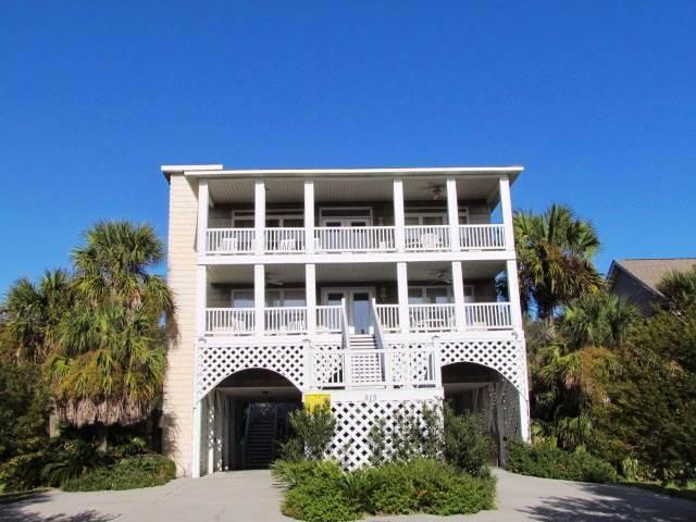 "515 Pompano St - ""Cassels House"" - Image 1 - Edisto Beach - rentals"