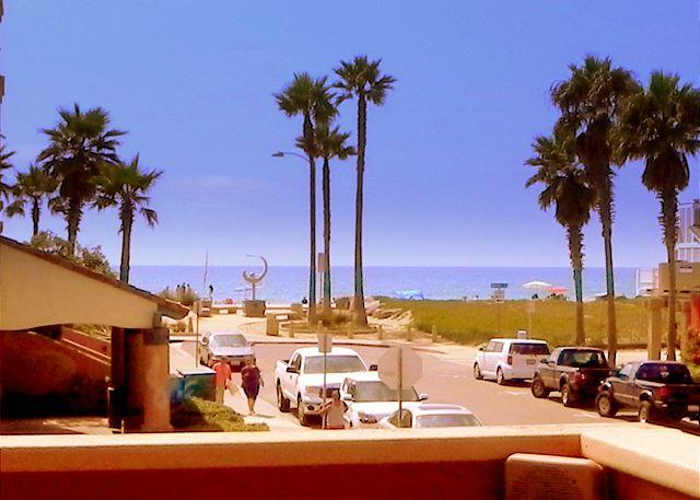 "View from ""Ocean Breeze"" at Seacoast Villas - Ocean Breeze: Spectacular Corner Unit + Beach View - Imperial Beach - rentals"