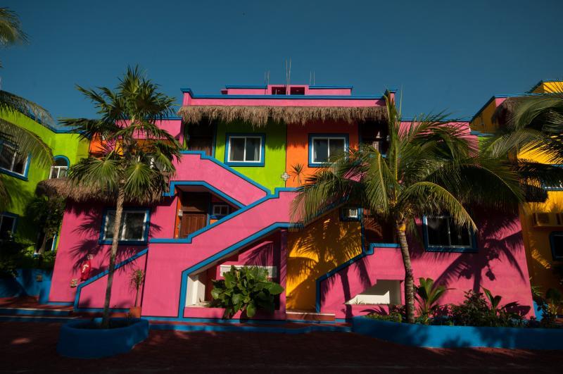 Exterior of  Del Sol - Del Sol Honeymoon Studio - Akumal - rentals