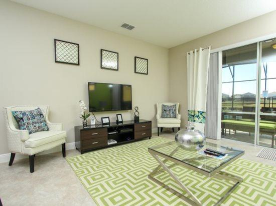 5 Bedroom 4.5 Bath Pool Home In Solterra Resort. 5128OA - Image 1 - Orlando - rentals
