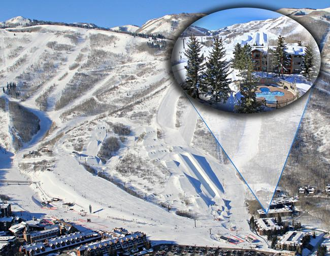 Snow Flower is located at the base of PC Mtn. Resort with restaurants, shops and activities - Best Snow Flower 3BR Ski In/Ski Out at Park City - Park City - rentals