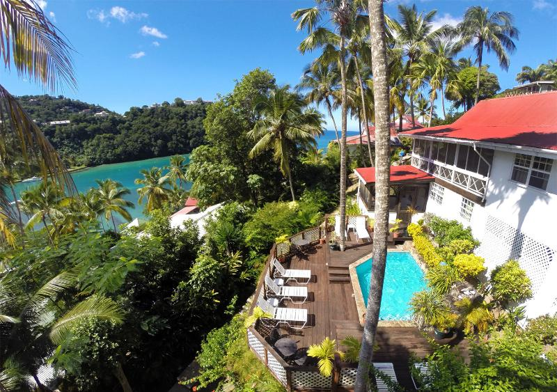 The Villa and the View - 'Villa St. Lucia' - Wonderful Cottage-Style Escape - Marigot Bay - rentals