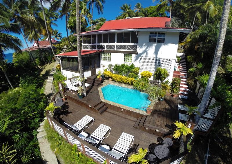 The Villa St. Lucia - 'Villa St. Lucia' - Wonderful Cottage-Style Escape - Marigot Bay - rentals